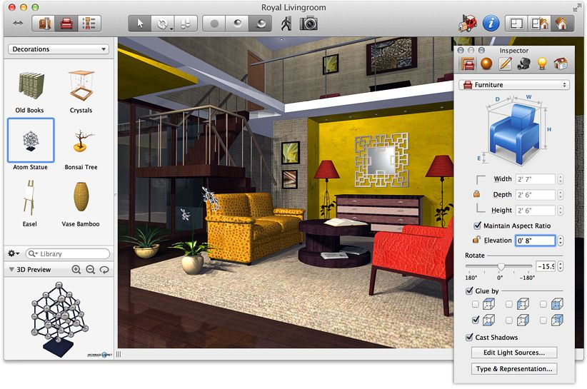 Top CAD Software For Interior Designers: Review Home Design Software Free,  3d Interior Design