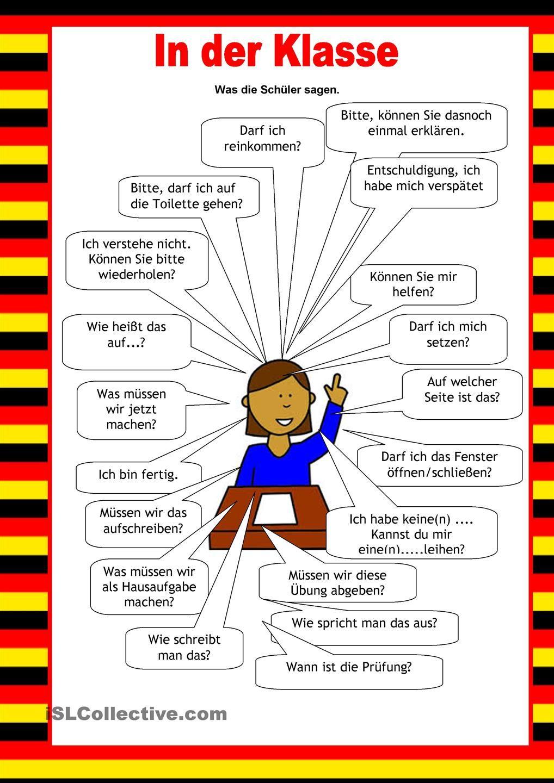 Willkommen auf Deutsch - Schule   Idiomas, Idioma alemán y Vocabulario