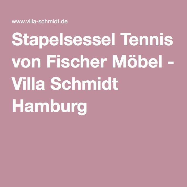 Stapelsessel Tennis von Fischer Möbel - Villa Schmidt Hamburg