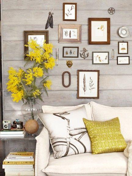 Framed botanicals decorar com paredes salon decoracion con cuadros usados also living room decorating ideas you  ll love dream home rh ar pinterest