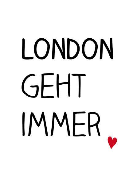 london sprüche Für Anne // Danke, liebe Kristina! Super! | spirit | London  london sprüche