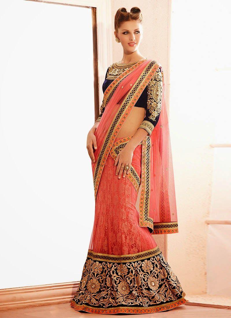 Designer Party Wear Wedding Saree