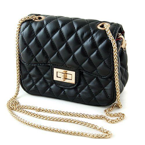 Czarna Torebka Chanelka Szanelka Pikowana Hit 2552104374 Oficjalne Archiwum Allegro Shoulder Bag Bags Chanel Classic