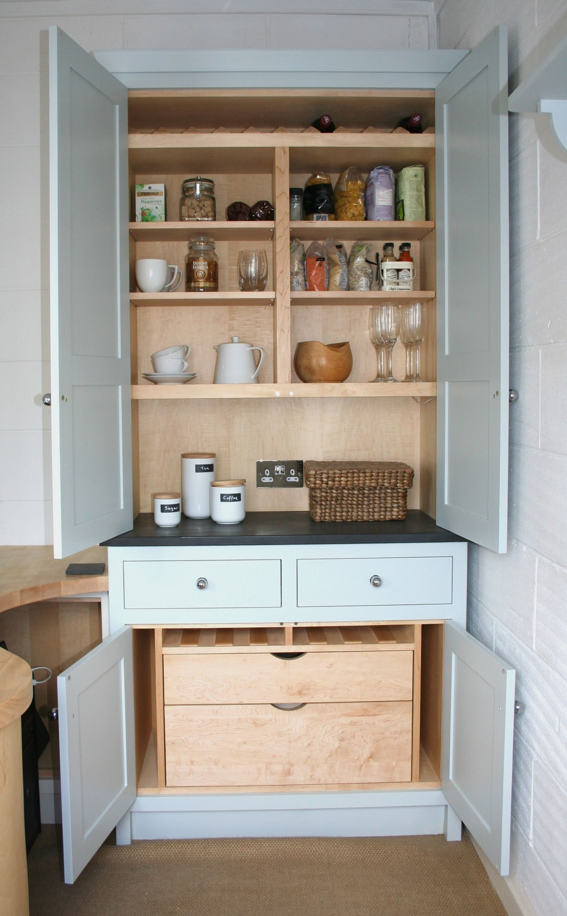 Best Chalkhouse Interiors Display Larder Unit With Farrow And 400 x 300