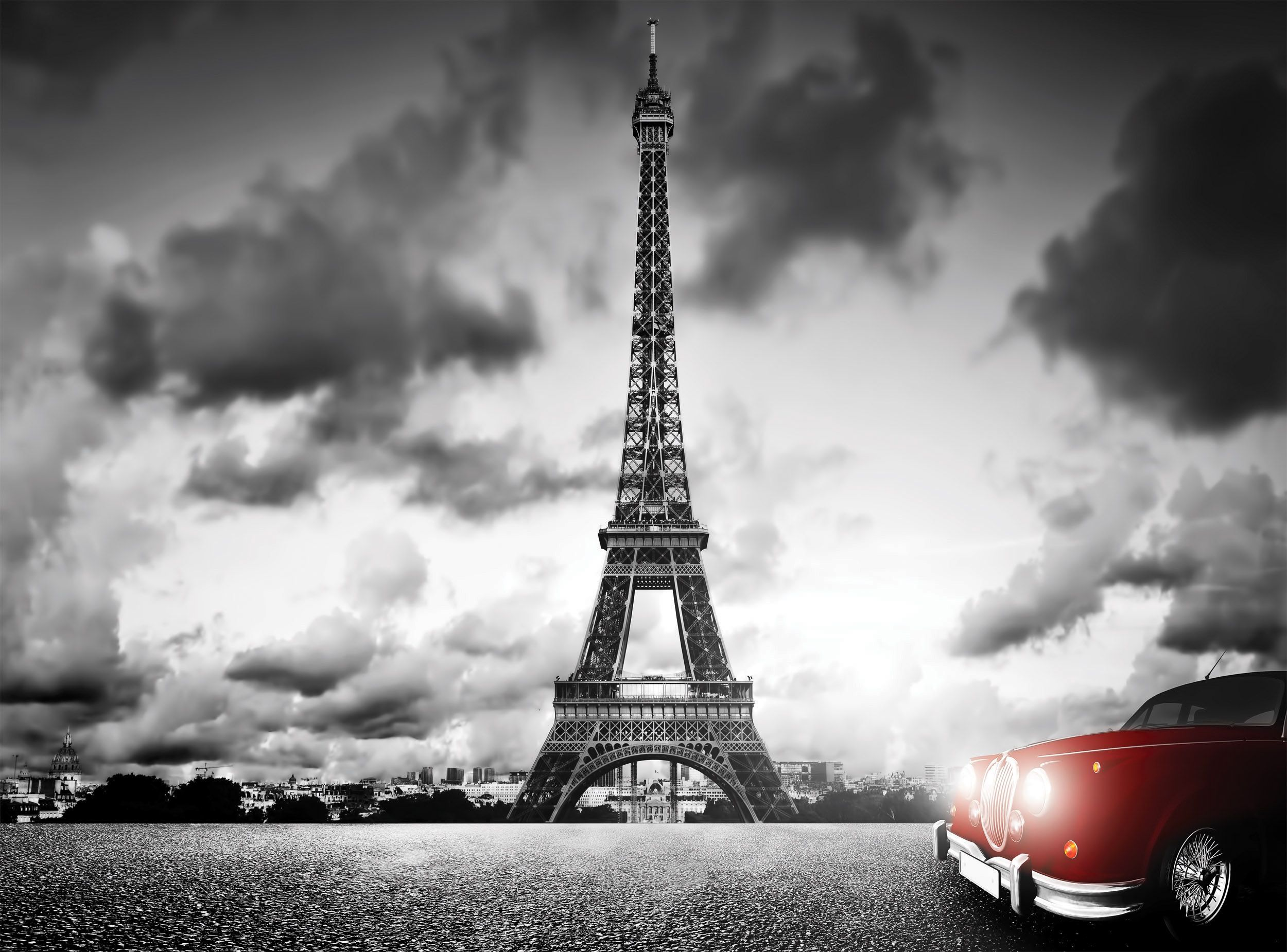 Paris black white paris pinterest photo wallpaper for Eiffel tower wall mural black and white