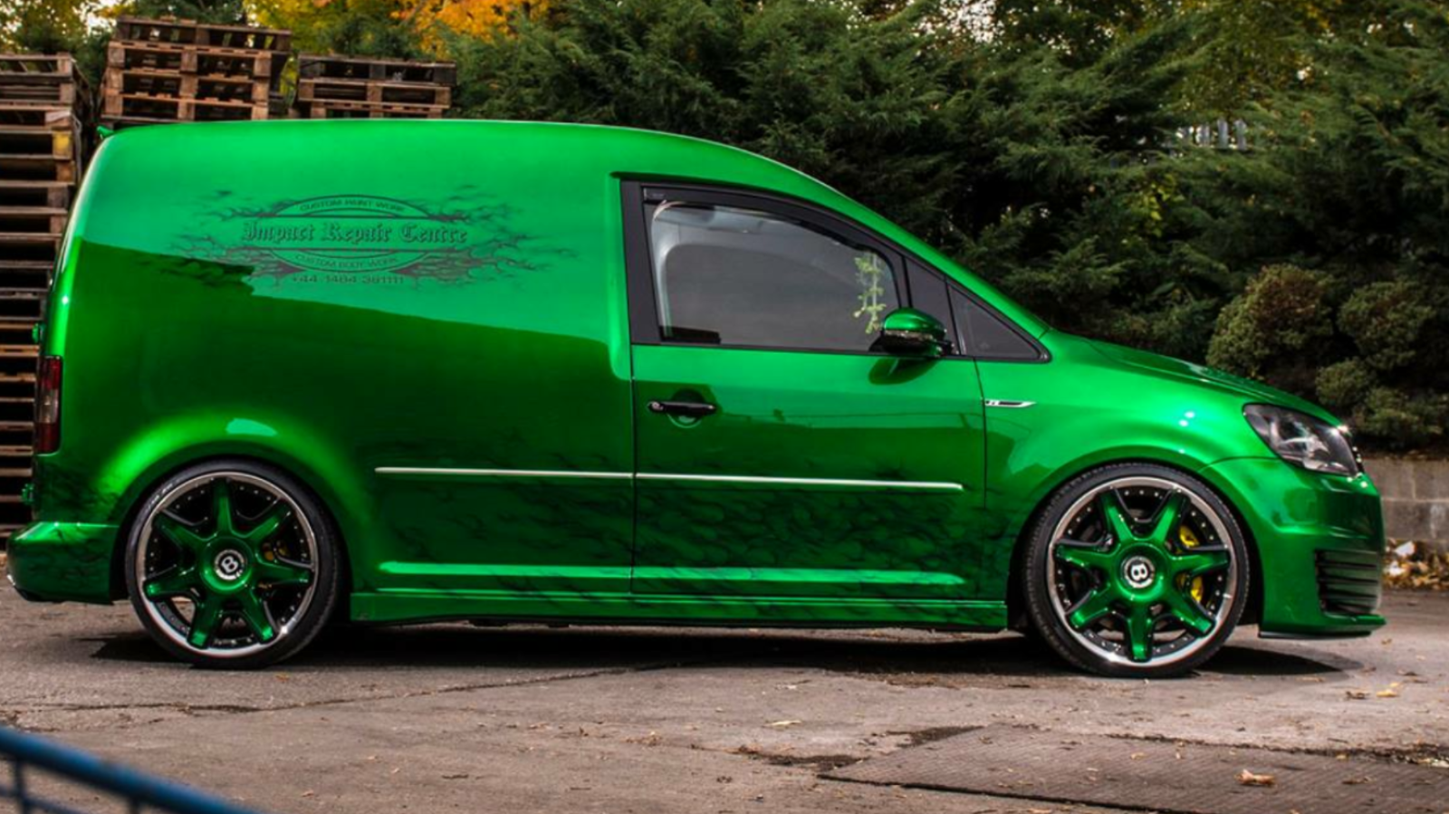 Vw caddy 2 0 custom van | evo parts build | Custom vans