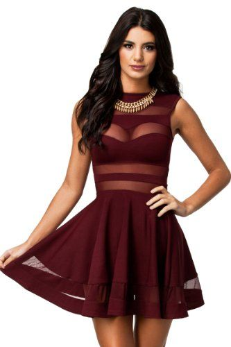 35aa52808d Dress up HerFashion skater dress is a great way to build up a woman desired  S shape