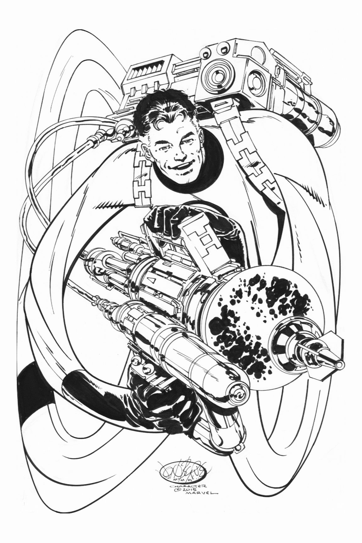 Mr Fantastic Commission By John Byrne Hn Included