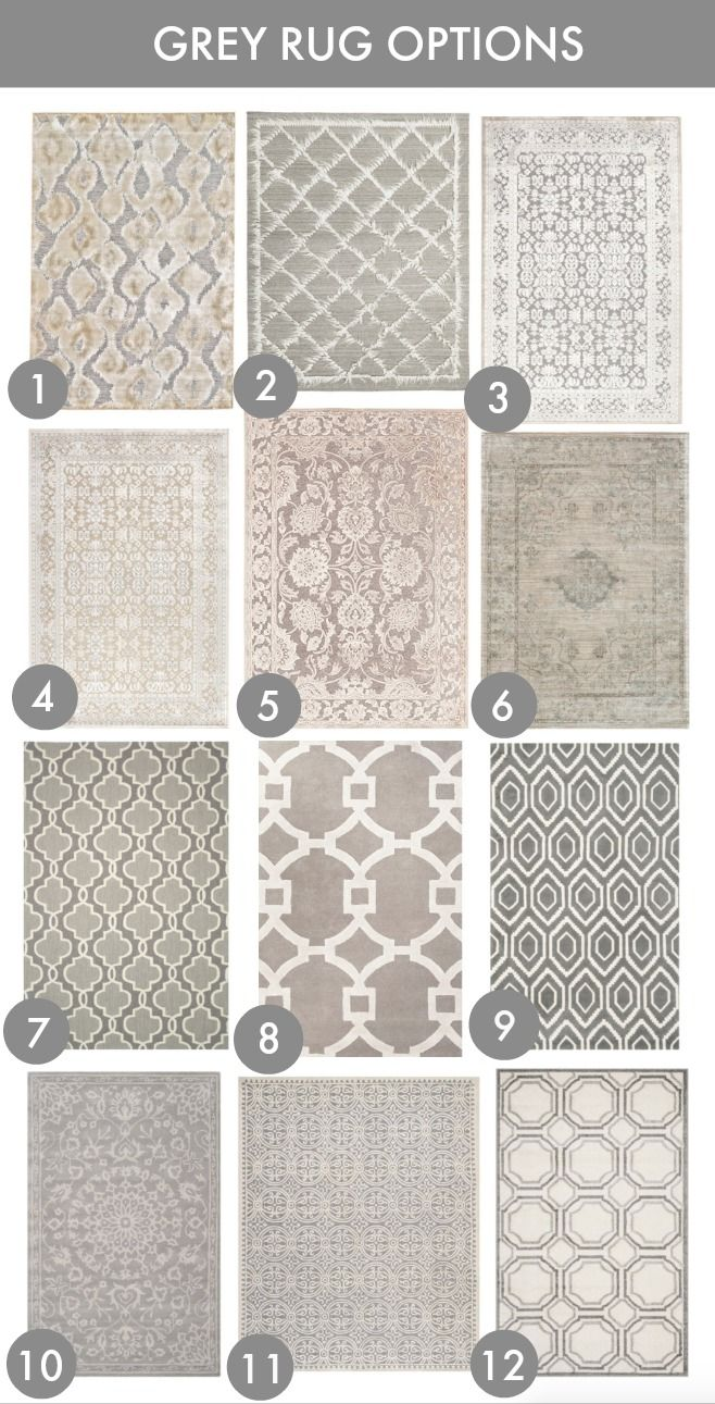 Greige Rug Home Decor