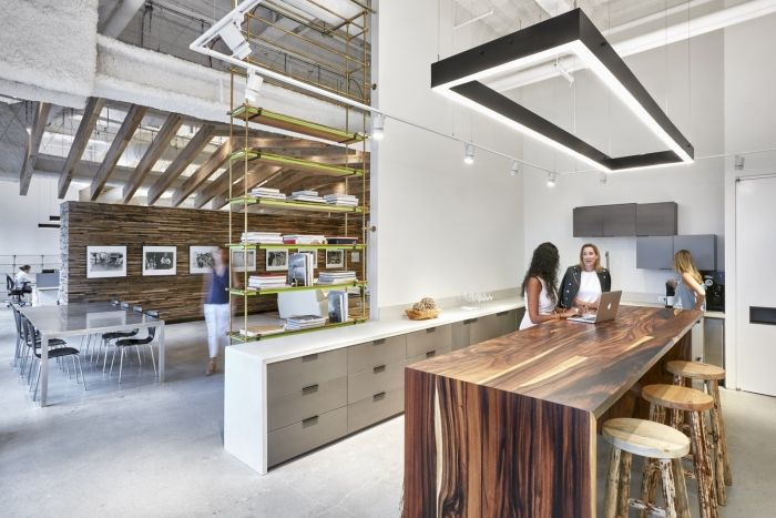 office tour sam edelman headquarters new york city industrial