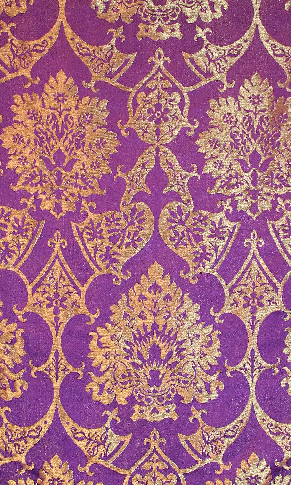 xx..tracy porter..poetic wanderlust...- stitchery-Gothic Royal Purple/Gilt - | stitchery. tracy ...