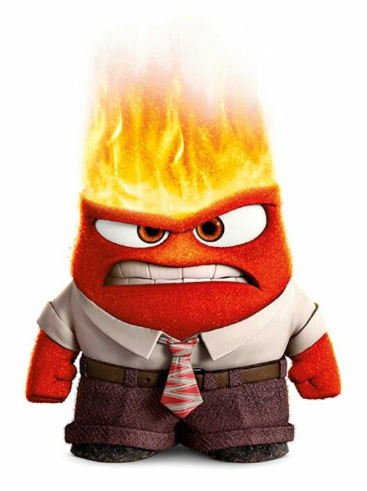 Anger From Inside Out Disney Inside Out Inside Out Characters Cute Disney