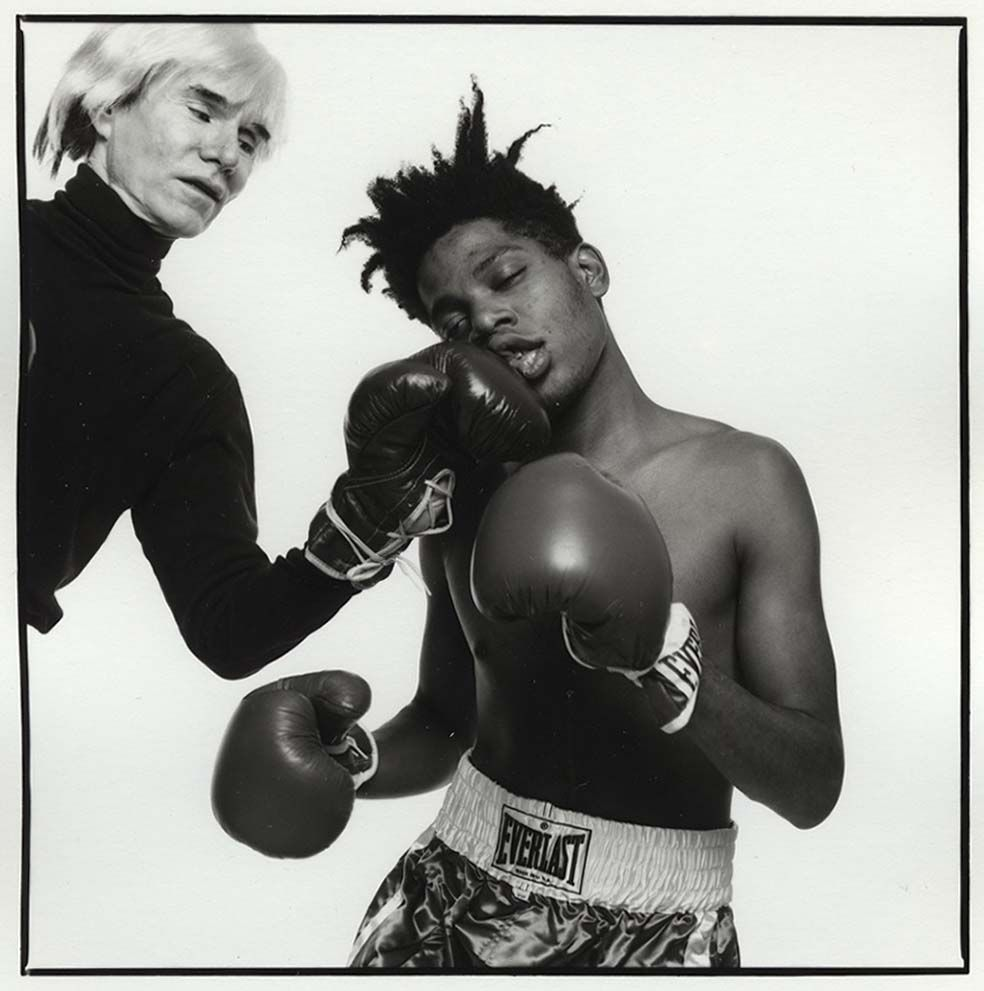 Andy & Basquiat #popart #artist #painter #famous