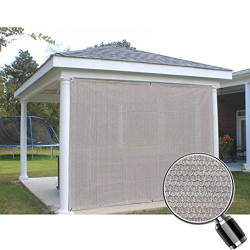 Alion Home Sun Shade Privacy Panel With Grommets On 2 Sides For Patio Awning