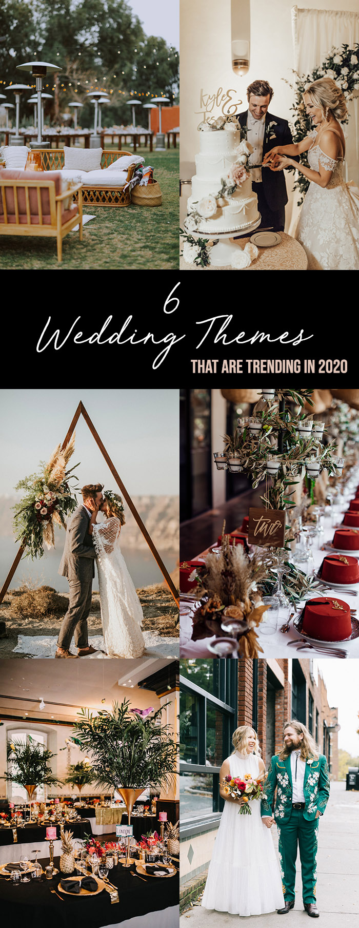 6 Wedding Themes That are Trending in 2020 Wedding