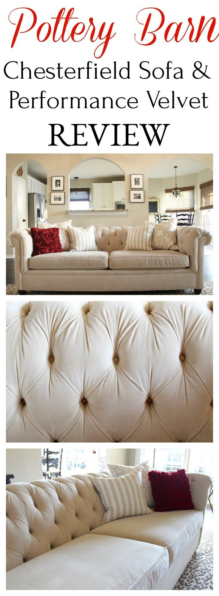 Review Pottery Barn Chesterfield Sofa