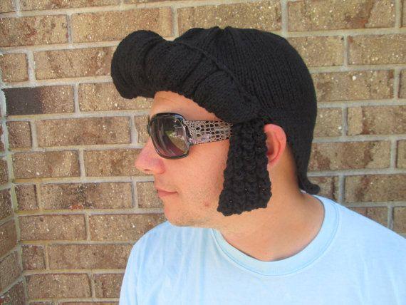 Mens elvis wig elvis hair elvis hairstyle elvis by Ritaknitsall ...