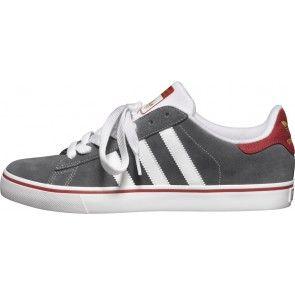 adidas campus, te le scarpe scure skate scisto / bianco / cardinale gott'a