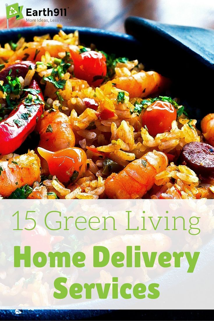 Green Living Home Delivery Services Delivery Food And Food