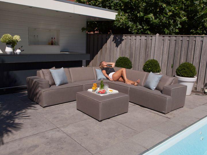 MONROEnbsp;Lounge Garten Sitzgruppe Hochwertige Gartenmöbel von - gartenmobel polyrattan eckbank
