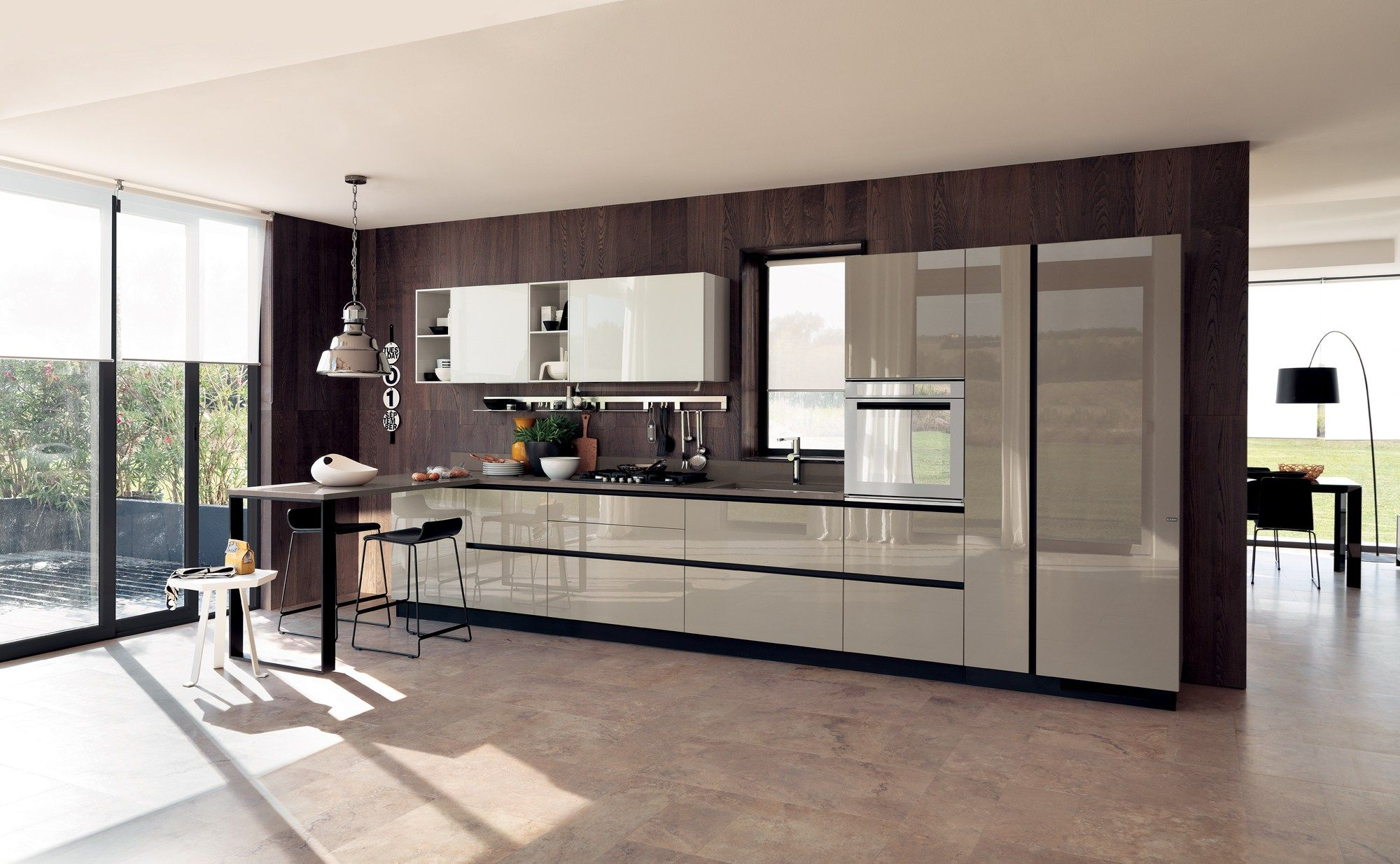 Fitted Kitchen Fitted Kitchen Liberamente Scavolini Line By Scavolini Design