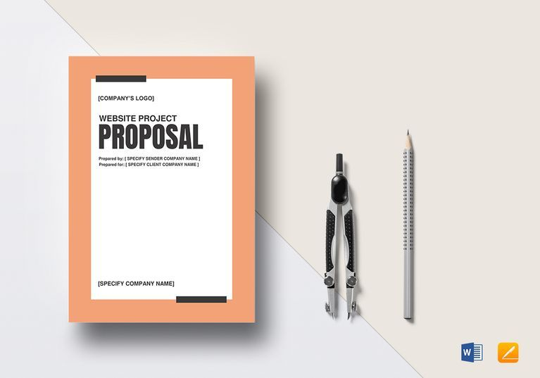 Project Proposal Template Word Website Project Proposal Template  Project Proposal Proposal .