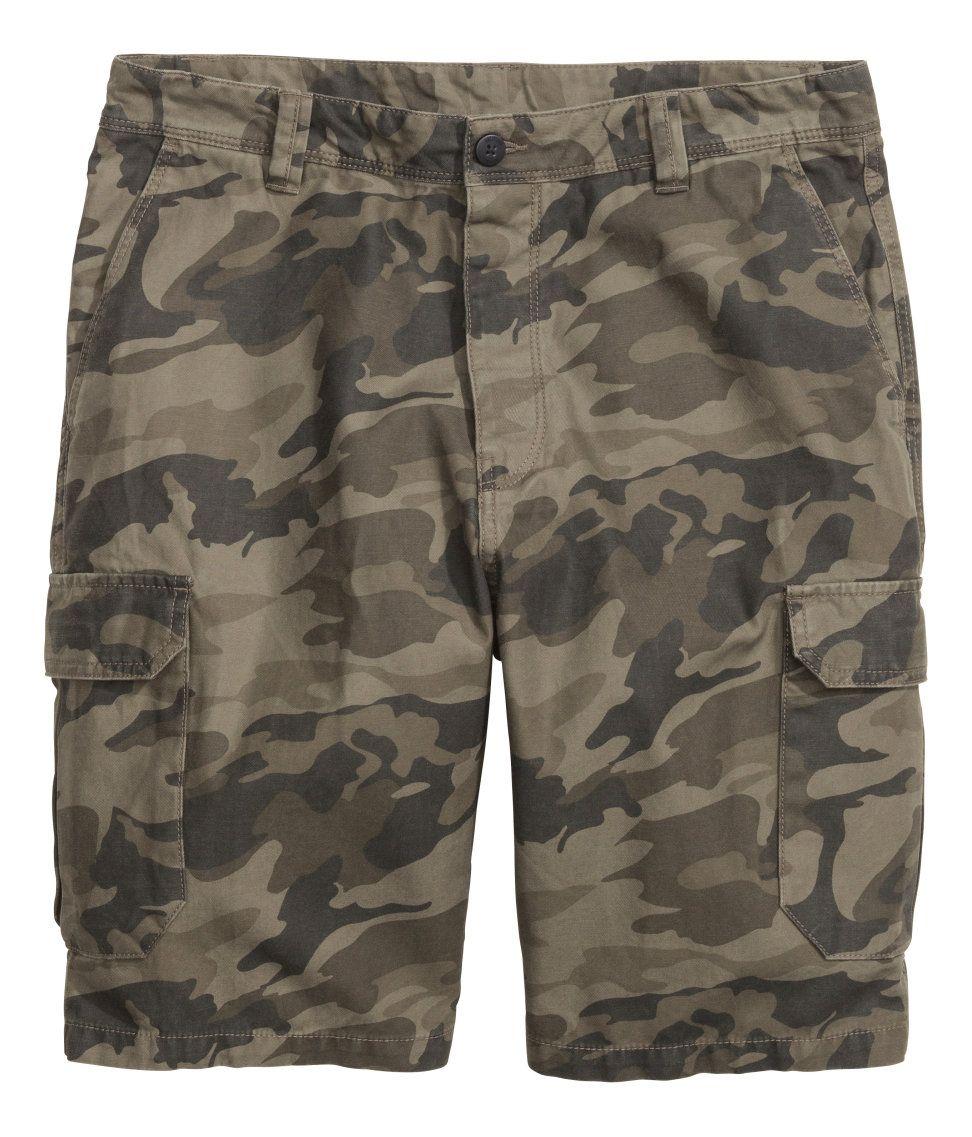 cb15fa1aa31 Long cargo shorts