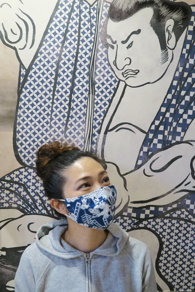 Hello Nippon Eco Mask – MOMOZAZA The new norm of fashion! If we need to wear masks everyday, let's make it fun and make it fashion! Reusable and washable mask made with 100% cotton, with a slot for filter paper. Made in Japan. #fabricmask #reusablemask #ecomask #washablemask #momozaza #hellonippon #madeinjapan #fashionmask
