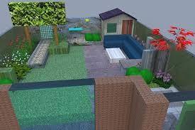 Afbeeldingsresultaat voor kleine tuin aanleggen kader pinterest
