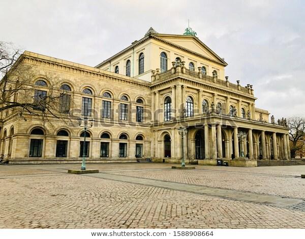 Opera House Hannover Germany Stock Photo Edit Now 1588908664 Opera House Hannover Photo