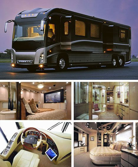 Elegant Posh Mobile Caravan House Luxury rv, Luxury