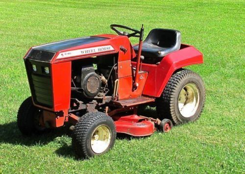 Wheel Horse Tractor C85 With Tiller And Mower