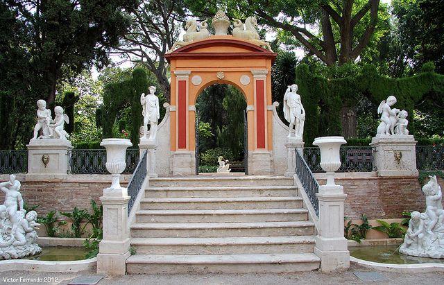 Jardines de monforte valencia by victor ferrando via for Jardines de monforte valencia