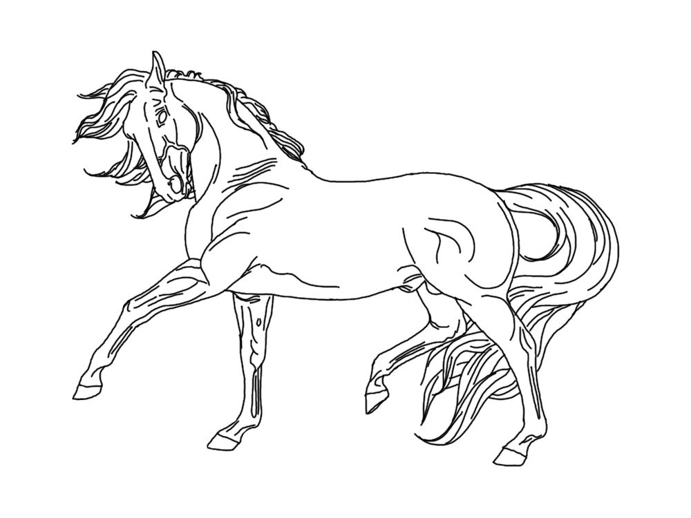 Breyer Horse Coloring Pages Printable Each Horse Is Cast In A Two To Three Piece Mold Both Horse Coloring Horse Coloring Pages Coloring Pages