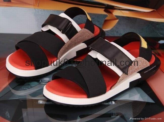 51575f5a6985 Y-3 Kaohe Sandal Men Shoe B23723 y3 man flats sandals platform shoe ...