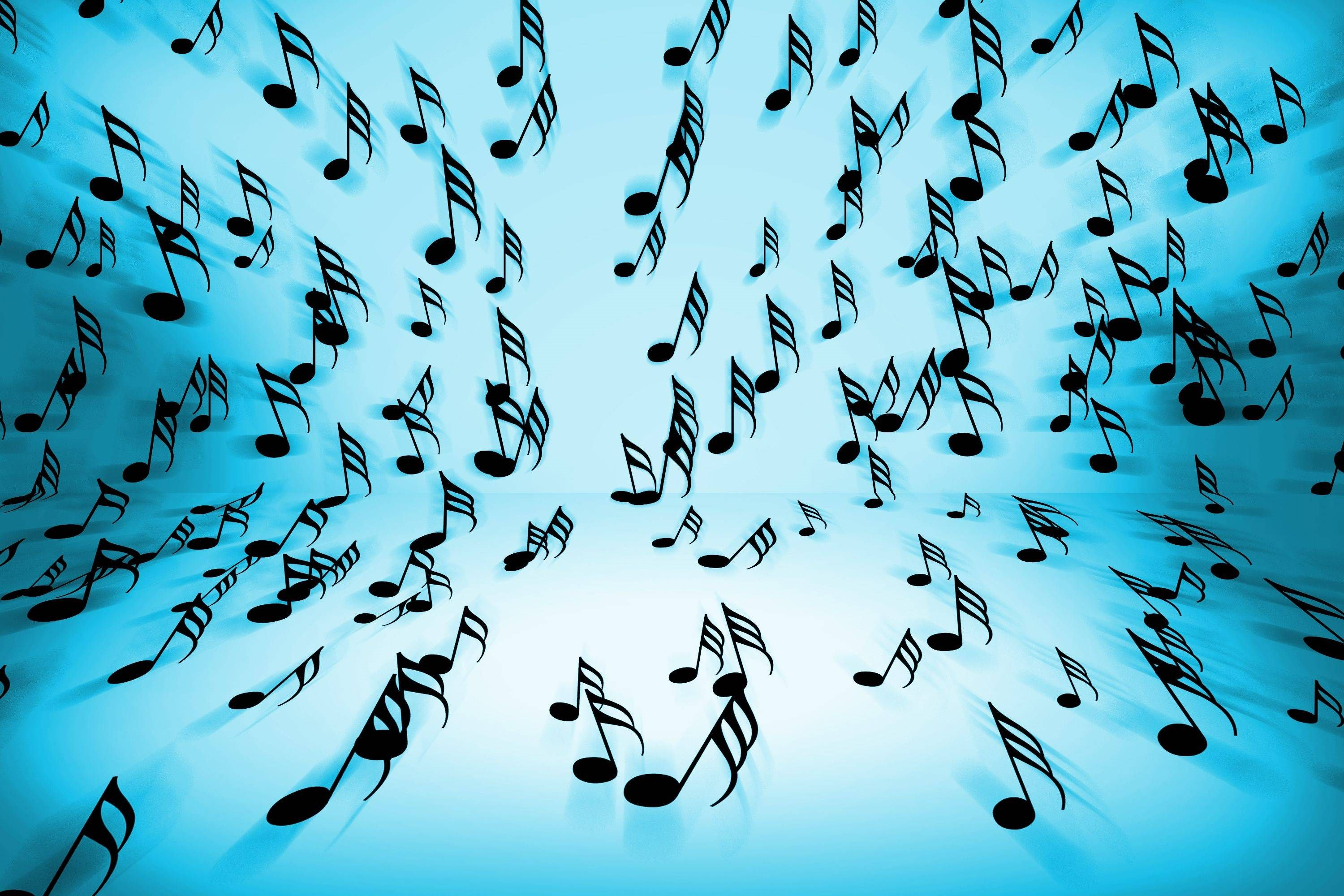 Colorful Music Note Wallpaper Background Music Notes Music