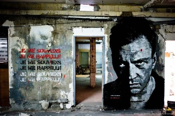 Jef Aerosol...Street artists take over bath-house | MuseumZero