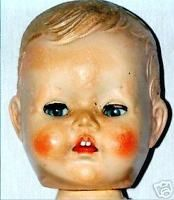 How to DETECT HARD PLASTIC Doll Disease (Pedigree ect).  c06541cd18cd