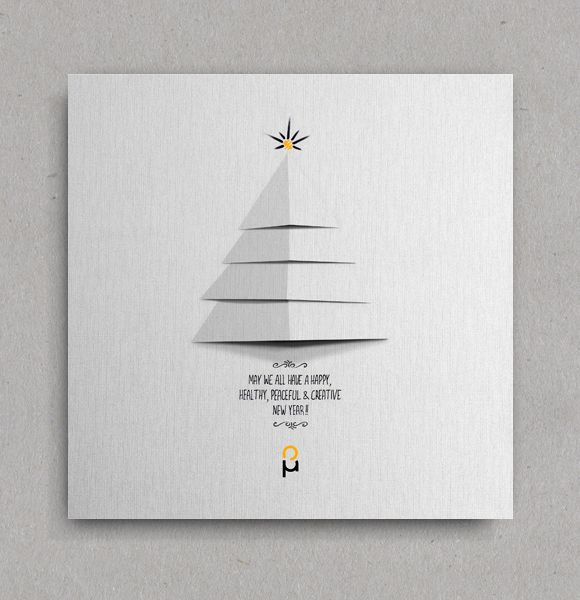 Christmas & New Year Greeting Cards on Behance | crafts | Pinterest ...