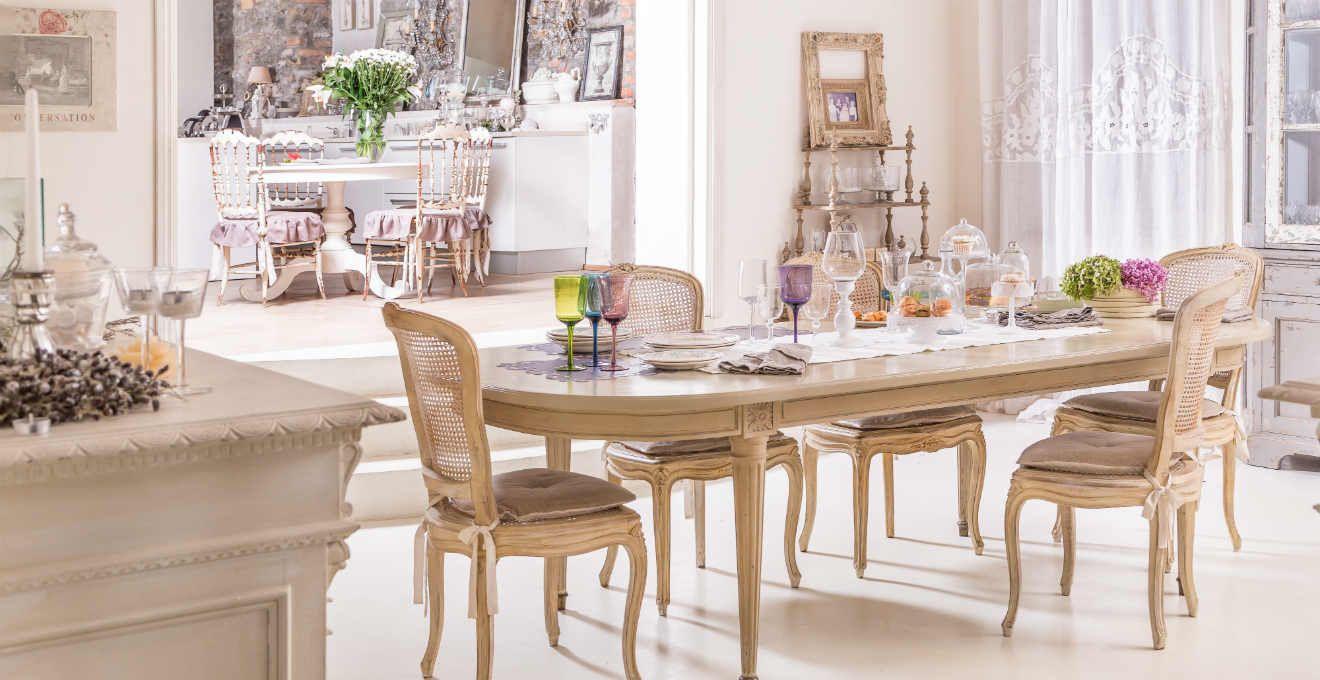 sala da pranzo stile provenzale   Stile Provenzale & Lavanda ...