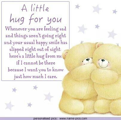 A Little Hug For U From My Dear Friend Hilda With Images