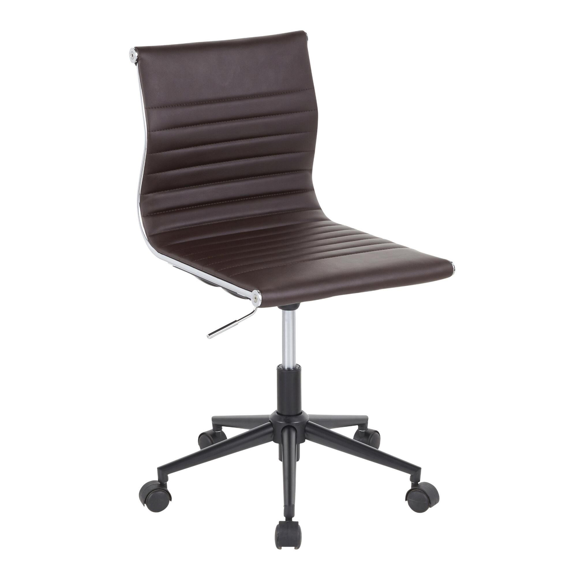 Decals For Baby Room, Faux Leather Ayden Upholstered Office Chair World Market In 2020 Lumisource Upholstered Office Chair Task Chair