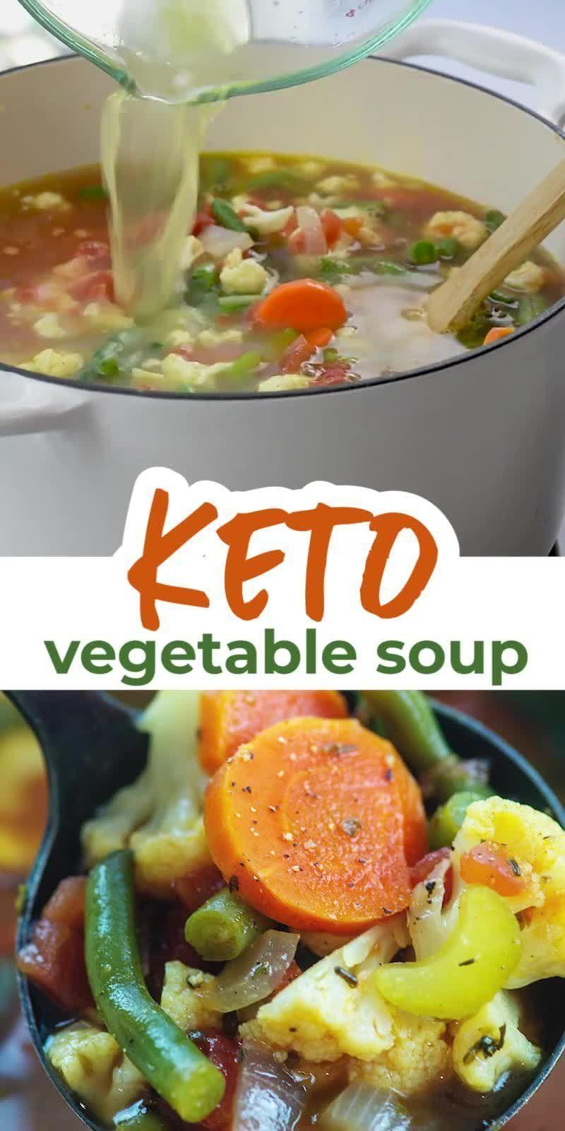 Easy Keto Vegetable Soup