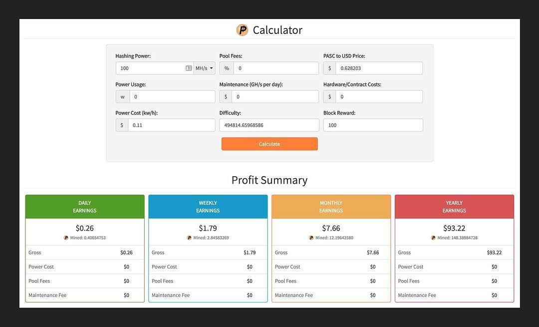 bitcoin cloud mining profit calculator)
