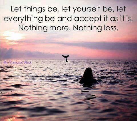 Let it be~