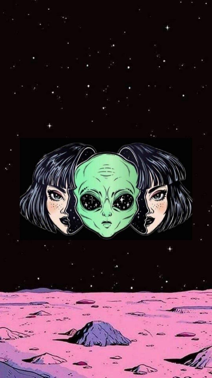 Pin By Adila Lesyani On Fondos De Pantalla Trippy Wallpaper Psychedelic Drawings Alien Art