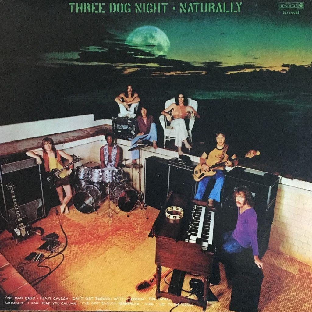 Three Dog Night Naturally Vinyl Lp Three Dog Night Three Dogs Album Art