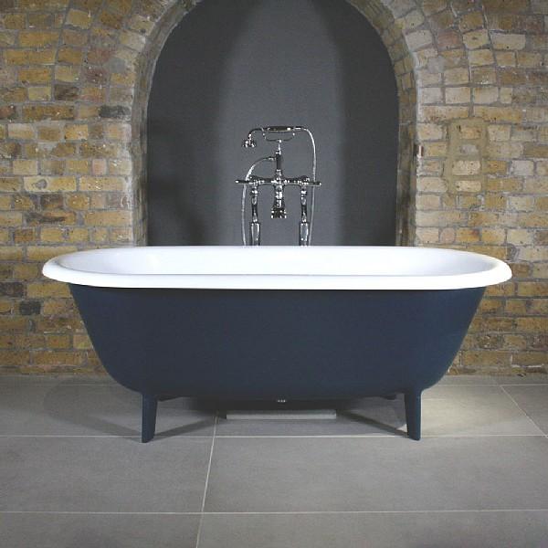 Audrey Freestanding Bath Cast Iron Bath Roll Top Bath Bathroom