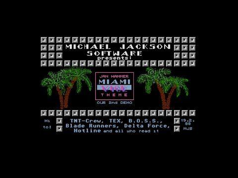 Miami Vice Theme by Michael Jackson Software, 1988   Atari ST Music Demo   1440p/50fps - YouTube