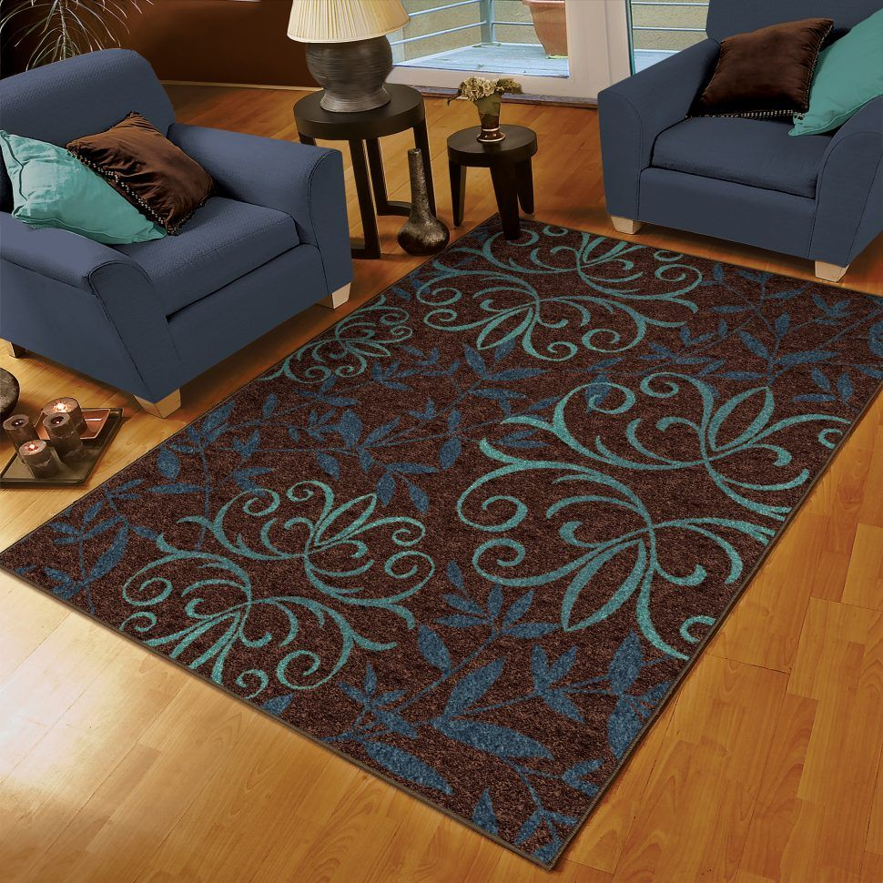 Brown And Turquoise Area Rugs Coffee Tables